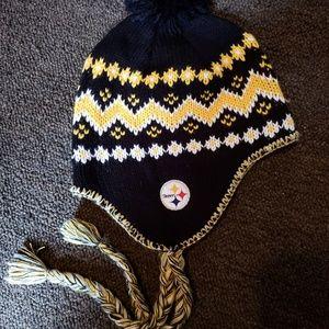Reebok Accessories - Steelers Knit Hat 5bdf3b60522